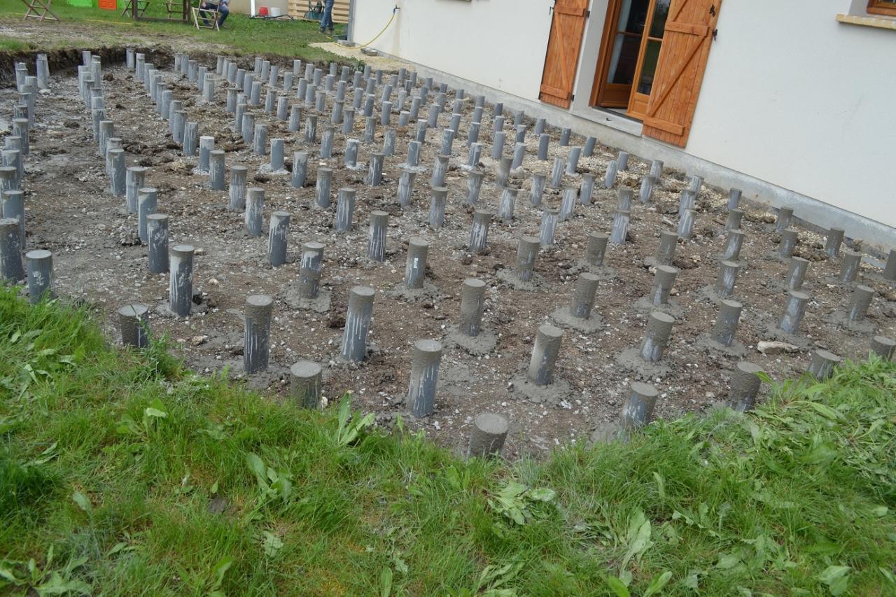 Terrasse Bois Sur Plot Beton Castorama   Encore Mille Merci à Ma Bellesoeur  Et à Mon Beaufrère Dêtre. Encore ...